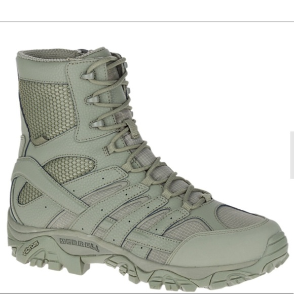 "0fa8ccba6aac (Mens) Merrell Moab 2 8"" Tactical Waterproof Boot"